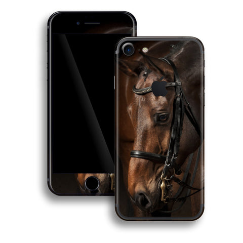 iPhone 8 Print Custom Signature Horse Skin Wrap Decal by EasySkinz