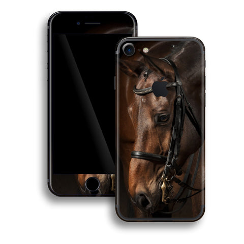iPhone 7 Print Custom Signature Horse Skin Wrap Decal by EasySkinz