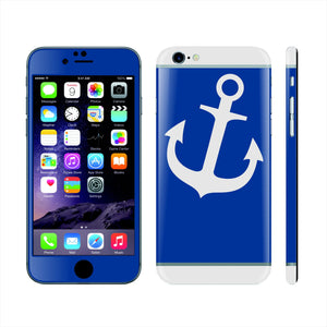 iPhone 6 Custom Colorful Design Edition  Anchor 020 Skin Wrap Sticker Cover Decal Protector by EasySkinz