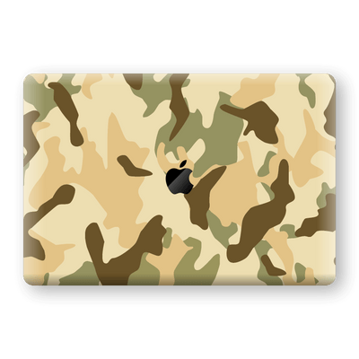 "MacBook Pro 15"" Touch Bar Print Custom Signature Camouflage Desert Skin Wrap Decal by EasySkinz"