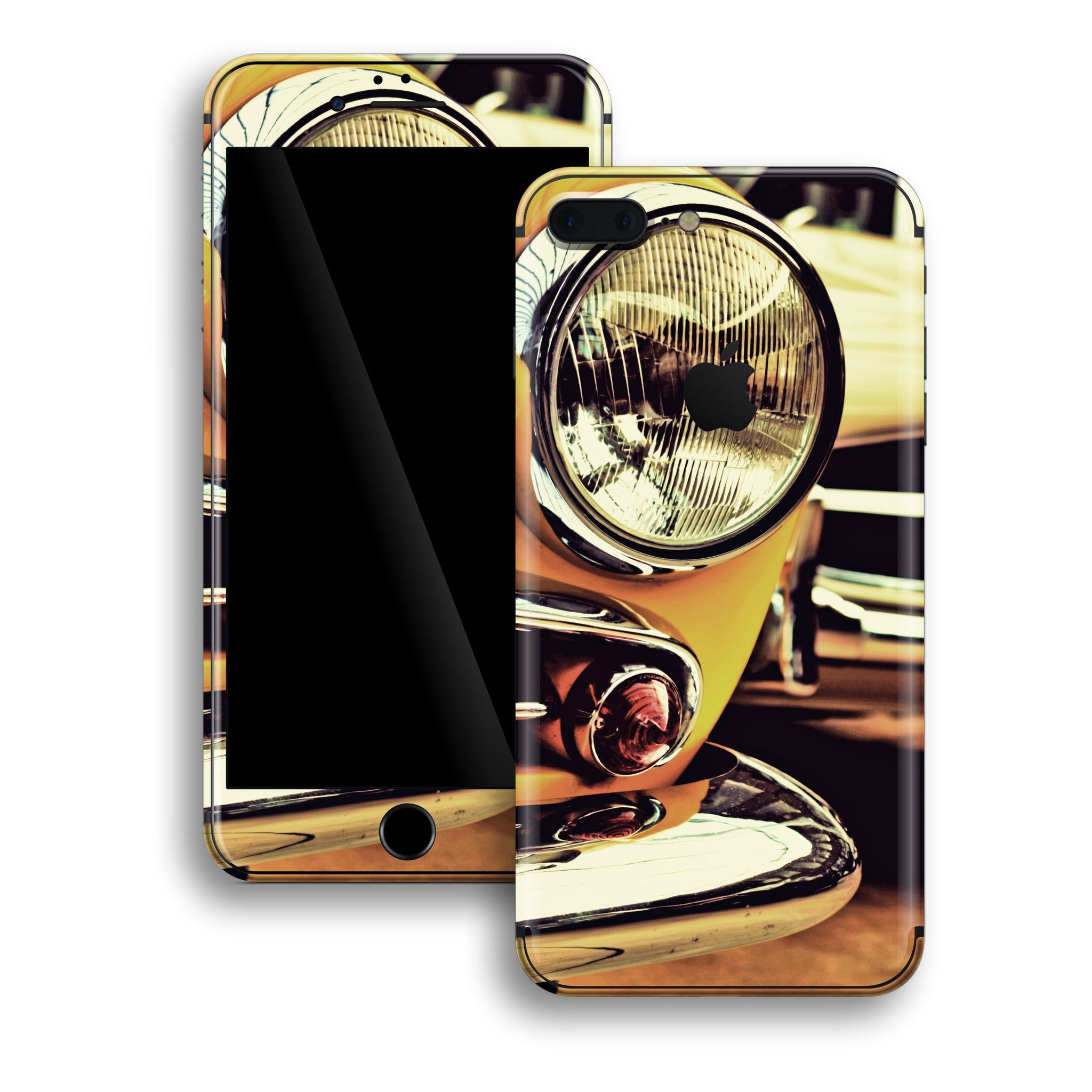 iPhone 8 PLUS Print Custom Signature NY TAXI Skin Wrap Decal by EasySkinz