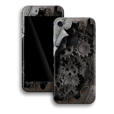 iPhone 8 Print Custom Signature 3D Old Machine Skin Wrap Decal by EasySkinz