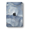 iPad MINI 5 (5th Generation 2019) SIGNATURE AGATE GEODE Blue-Gold Skin Wrap Sticker Decal Cover Protector by EasySkinz
