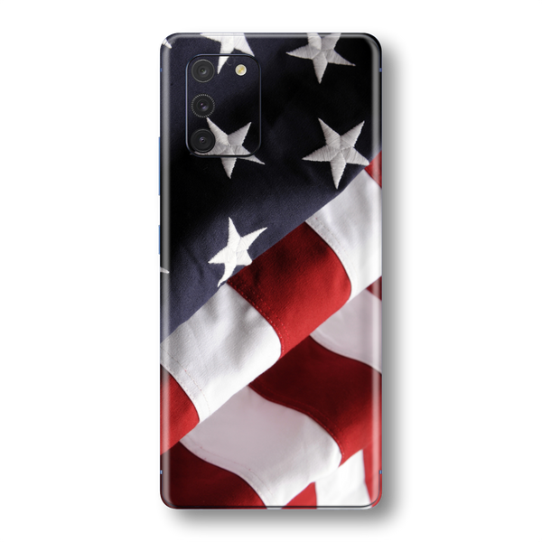 Samsung Galaxy S10 LITE Print Printed Custom SIGNATURE USA FLAG Skin Wrap Sticker Decal Cover Protector by EasySkinz
