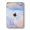 iPad MINI 5 (5th Generation 2019) SIGNATURE AGATE GEODE Pastel-Gold Skin Wrap Sticker Decal Cover Protector by EasySkinz