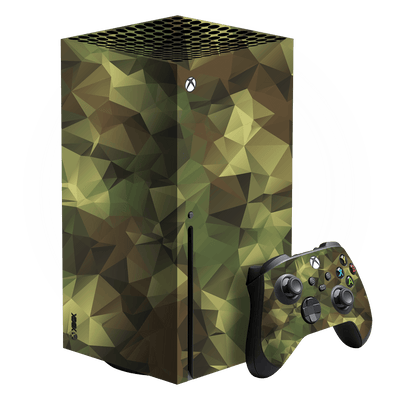 XBOX Series X SIGNATURE Abstract Camouflage Skin, Wrap, Decal, Protector, Cover by EasySkinz | EasySkinz.com
