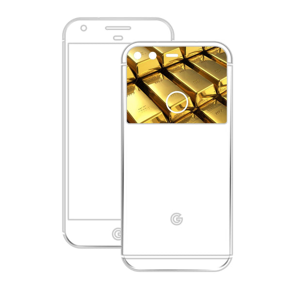 Google Pixel XL GLOSSY BRONZE ANTIQUE Metallic Skin