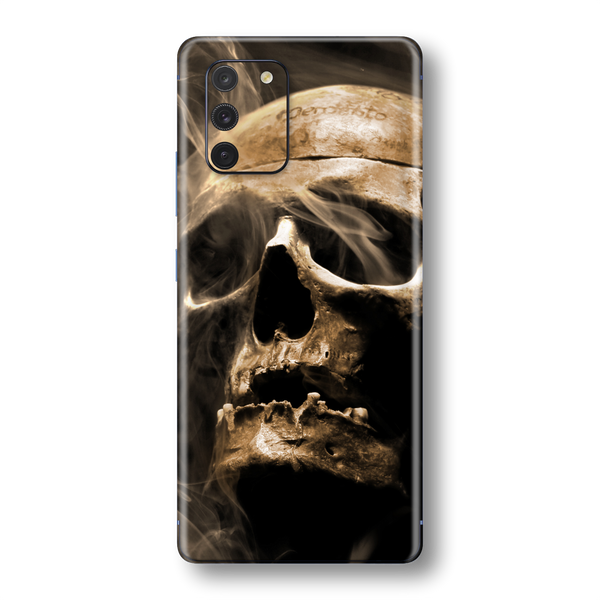 Samsung Galaxy S10 LITE Print Printed Custom SIGNATURE Voodoo SKULL Skin Wrap Sticker Decal Cover Protector by EasySkinz