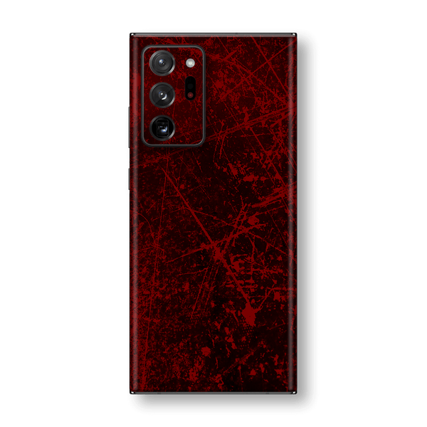 Samsung Galaxy NOTE 20 ULTRA Print Printed Custom SIGNATURE Bloody Horror Skin Wrap Sticker Decal Cover Protector by EasySkinz