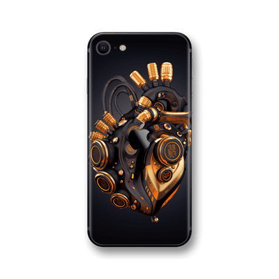 iPhone SE (2020) SIGNATURE ROBOTIC HEART Skin, Wrap, Decal, Protector, Cover by EasySkinz | EasySkinz.com