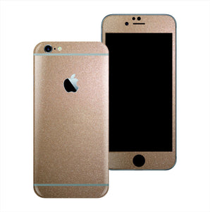 iPhone 6S PLUS Glossy Bronze Antique Metallic Skin Wrap Sticker Cover Protector Decal by EasySkinz