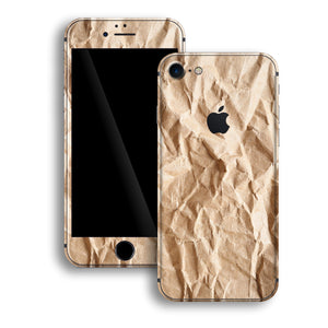 iPhone 8 Print Custom Signature Paper Skin Wrap Decal by EasySkinz