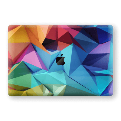 "MacBook Pro 13"" (2019) Print Custom Signature Abstract Geometry 7 Skin Wrap Decal by EasySkinz - Design 7"