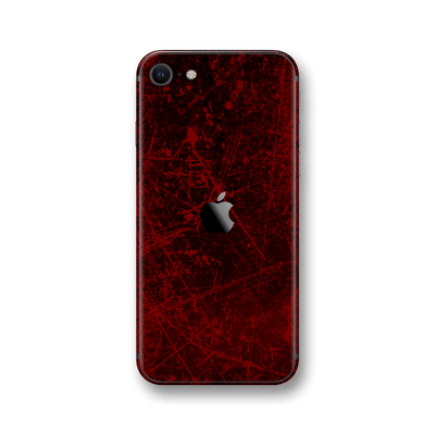 iPhone SE (2020) Print Printed Custom SIGNATURE Bloody Horror Skin Wrap Sticker Decal Cover Protector by EasySkinz