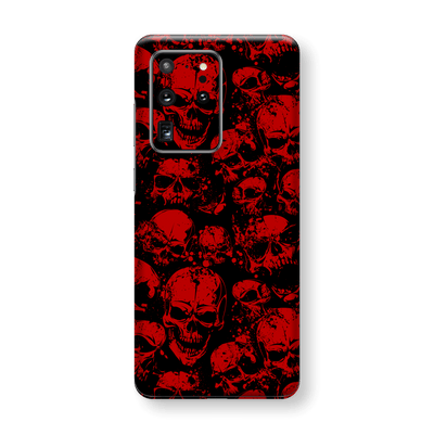 Samsung Galaxy S20 ULTRA SIGNATURE Bloody Skull Skulls Horror Skin, Wrap, Decal, Protector, Cover by EasySkinz | EasySkinz.com
