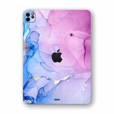 "iPad PRO 11"" (2020) SIGNATURE AGATE GEODE Pink-Blue Skin, Wrap, Decal, Protector, Cover by EasySkinz 