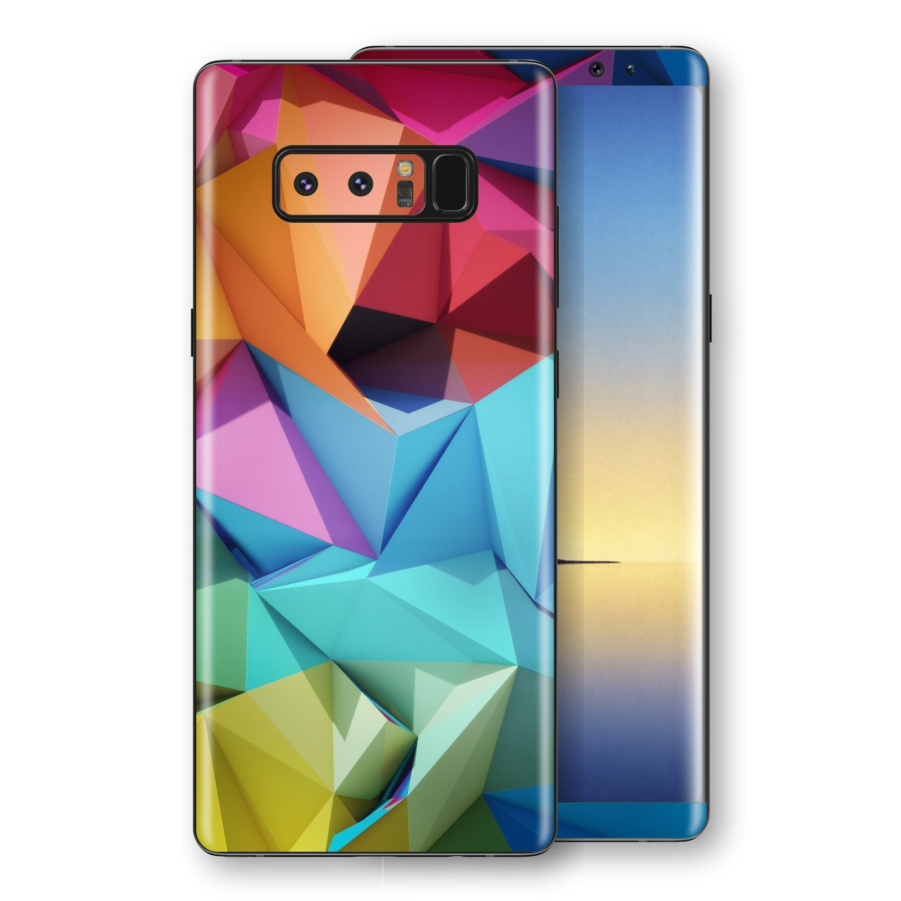 Samsung Galaxy NOTE 8 Signature Abstract Geometry Skin Wrap Decal Protector | EasySkinz