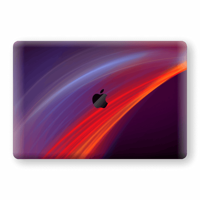 "MacBook Pro 15"" Touch Bar Print Custom Signature Colour Waves Skin Wrap Decal by EasySkinz - Design 2"