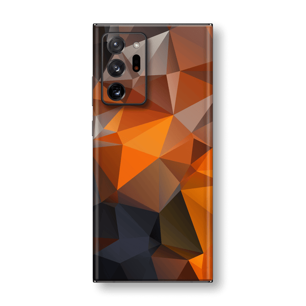 Samsung Galaxy NOTE 20 ULTRA SIGNATURE Faceted TRIANGLES Skin, Wrap, Decal, Protector, Cover by EasySkinz | EasySkinz.com