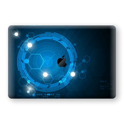 "MacBook Pro 15"" Touch Bar Print Custom Signature SPACE Skin Wrap Decal by EasySkinz"