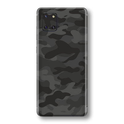 Samsung Galaxy NOTE 10 LITE Print Printed Custom SIGNATURE Camouflage DARK SLATE Skin Wrap Sticker Decal Cover Protector by EasySkinz