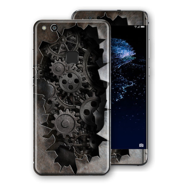 Huawei P10 LITE Print Custom Signature 3D Old Machine Skin Wrap Decal by EasySkinz