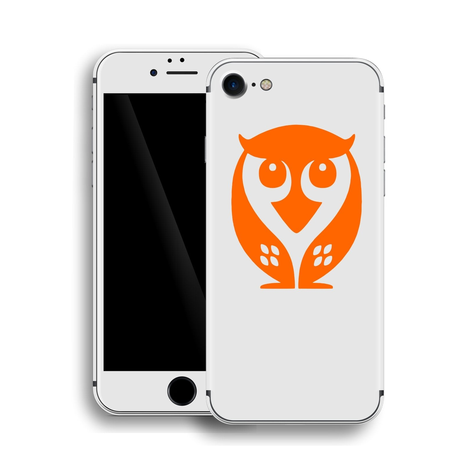 iPhone 8 Owl Custom Design Edition Skin Wrap Decal Protector Cover | EasySkinz