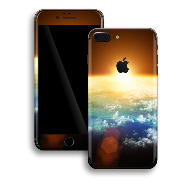 iPhone 8 PLUS Print Custom Signature Sunset Skin Wrap Decal by EasySkinz
