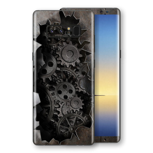 Samsung Galaxy NOTE 8 Print Custom Signature 3D Old Machine Skin Wrap Decal by EasySkinz