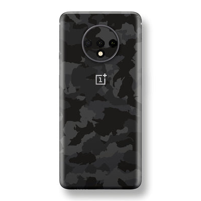 OnePlus 7T Print Custom SIGNATURE Camouflage DARK SLATE Skin, Wrap, Decal, Protector, Cover by EasySkinz | EasySkinz.com