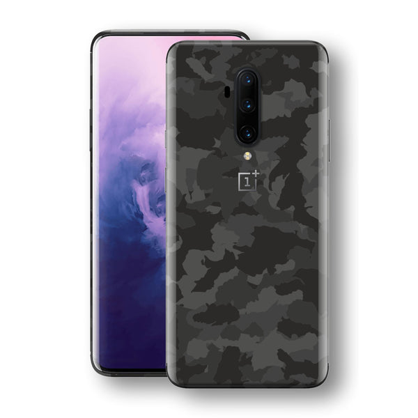 OnePlus 7T PRO Print Custom SIGNATURE Camouflage DARK SLATE Skin, Wrap, Decal, Protector, Cover by EasySkinz | EasySkinz.com