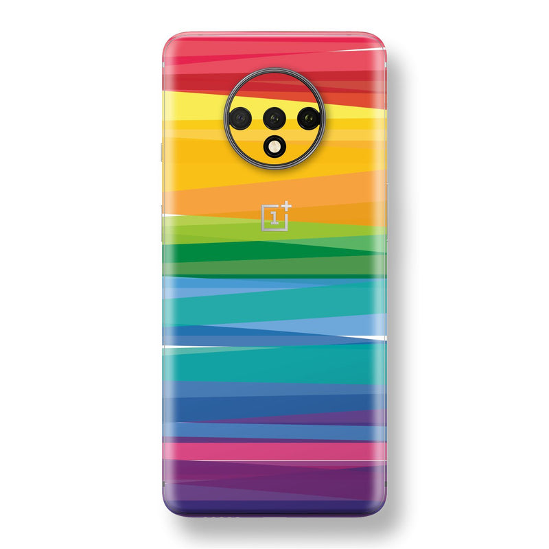 OnePlus 7T Print Custom SIGNATURE MULTICOLOURS Skin, Wrap, Decal, Protector, Cover by EasySkinz | EasySkinz.com