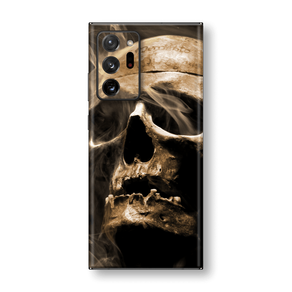 Samsung Galaxy NOTE 20 ULTRA Print Printed Custom SIGNATURE Voodoo SKULL Skin Wrap Sticker Decal Cover Protector by EasySkinz