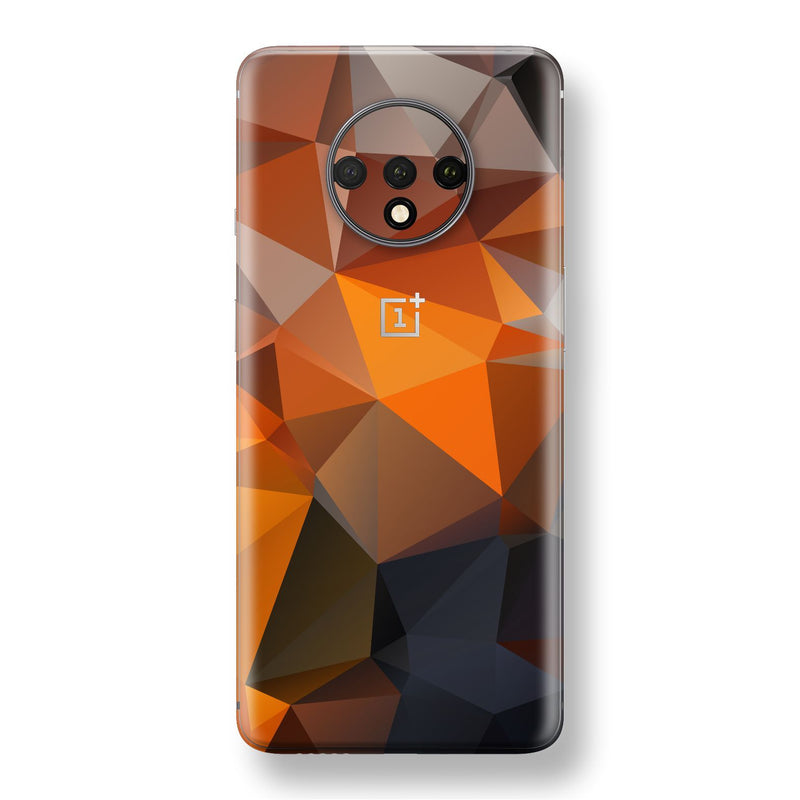 OnePlus 7T Print Custom SIGNATURE Faceted TRIANGLES Skin, Wrap, Decal, Protector, Cover by EasySkinz | EasySkinz.com