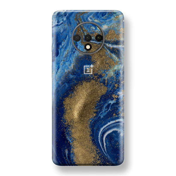 OnePlus 7T Print Custom SIGNATURE Underwater Golden Treasure Skin, Wrap, Decal, Protector, Cover by EasySkinz | EasySkinz.com