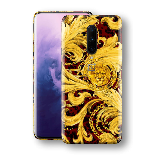 OnePlus 7T PRO Print Custom SIGNATURE GOLD CHAINS Skin, Wrap, Decal, Protector, Cover by EasySkinz | EasySkinz.com