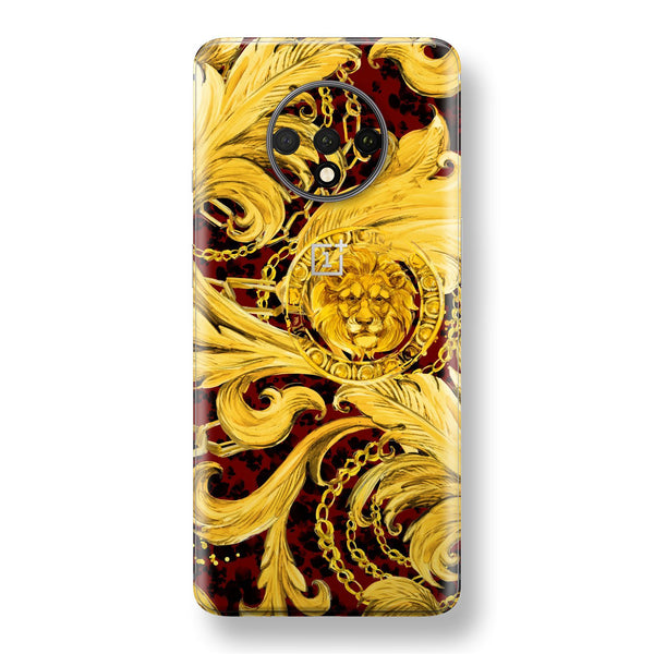 OnePlus 7T Print Custom SIGNATURE GOLD CHAINS Skin, Wrap, Decal, Protector, Cover by EasySkinz | EasySkinz.com