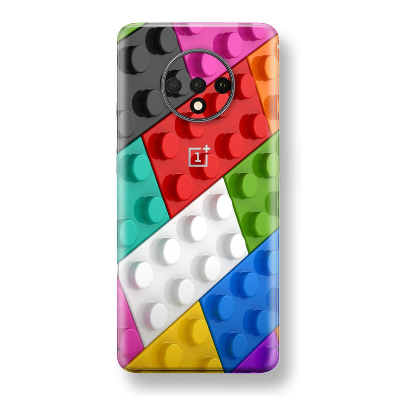 OnePlus 7T Print Custom SIGNATURE Toy Construction Bricks Skin, Wrap, Decal, Protector, Cover by EasySkinz | EasySkinz.com