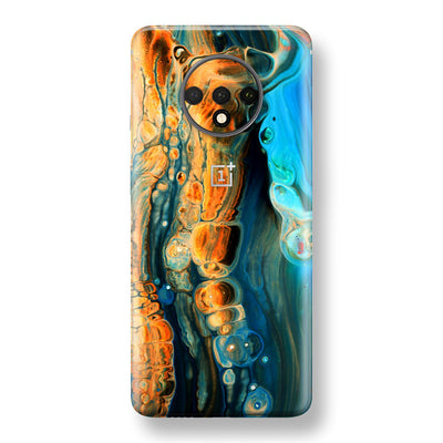 OnePlus 7T Print Custom SIGNATURE Alcohol Ink Art Skin, Wrap, Decal, Protector, Cover by EasySkinz | EasySkinz.com