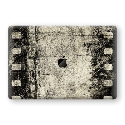 "MacBook Pro 15"" Touch Bar Print Custom Signature Vintage Old Cine Film Skin Wrap Decal by EasySkinz"