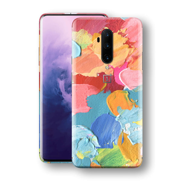OnePlus 7T PRO Print Custom SIGNATURE Canvas Mixture of Colours Skin, Wrap, Decal, Protector, Cover by EasySkinz | EasySkinz.com