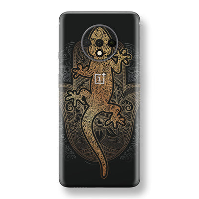 OnePlus 7T Print Custom SIGNATURE Abstract GECKO Skin, Wrap, Decal, Protector, Cover by EasySkinz | EasySkinz.com