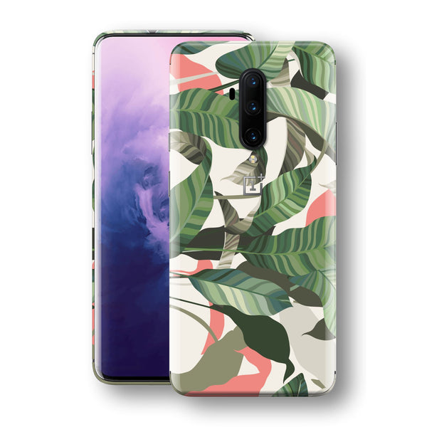 OnePlus 7T PRO Print Custom SIGNATURE Soft Tropical Palm Leaves Skin, Wrap, Decal, Protector, Cover by EasySkinz | EasySkinz.com