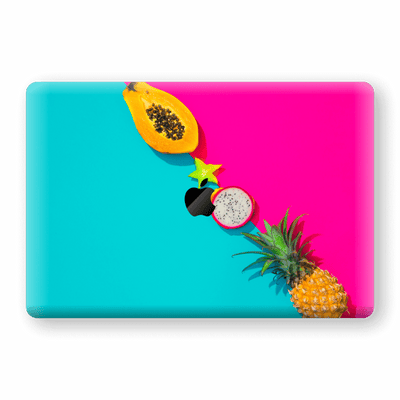 "MacBook Pro 15"" Touch Bar Print Custom Signature TROPICAL Vibes Skin Wrap Decal by EasySkinz"