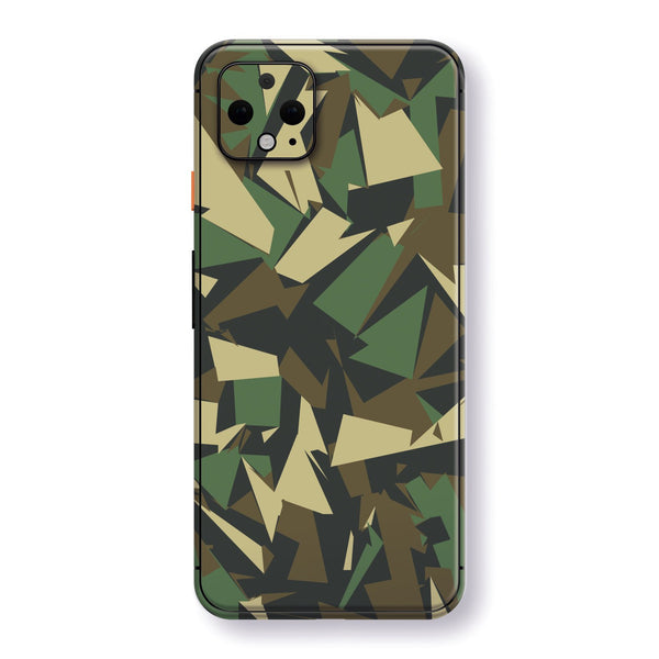 Google Pixel 4 XL Print Custom SIGNATURE Abstact CAMOUFLAGE Skin, Wrap, Decal, Protector, Cover by EasySkinz | EasySkinz.com