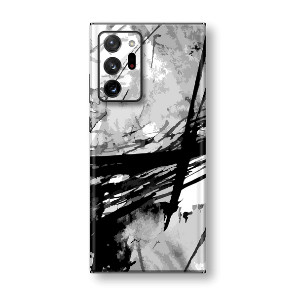 Samsung Galaxy NOTE 20 ULTRA Print Custom Signature Abstract Black & White Skin Wrap Decal by EasySkinz
