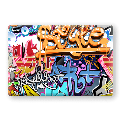 "MacBook PRO 16"" (2019) Print Custom Signature Graffiti Skin Wrap Decal by EasySkinz"