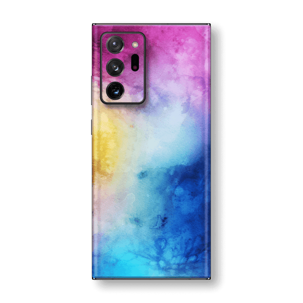 Samsung Galaxy NOTE 20 ULTRA Print Custom Signature Abstract Watercolour Blue/Purple Skin Wrap Decal by EasySkinz