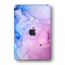 iPad MINI 5 (5th Generation 2019) SIGNATURE AGATE GEODE Pink-Blue Skin Wrap Sticker Decal Cover Protector by EasySkinz