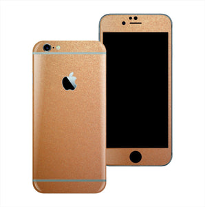 iPhone 6S PLUS 3M Copper Matt Matte Metallic Skin Wrap Sticker Cover Protector Decal by EasySkinz